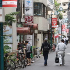 Les ruelles du quartier Kamiyamacho, visiter Tokyo
