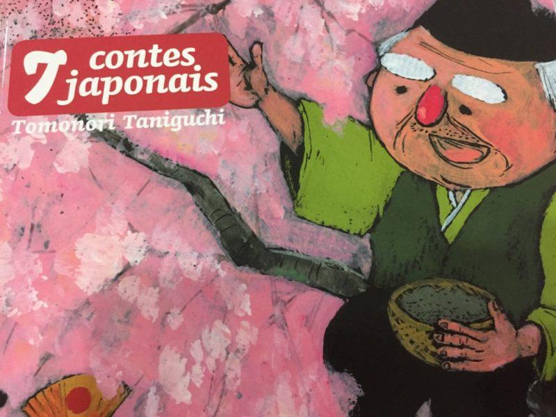 livre jeunesse japon, 7 contes japonais de Tomonori Taniguchi, expatriation à Tokyo