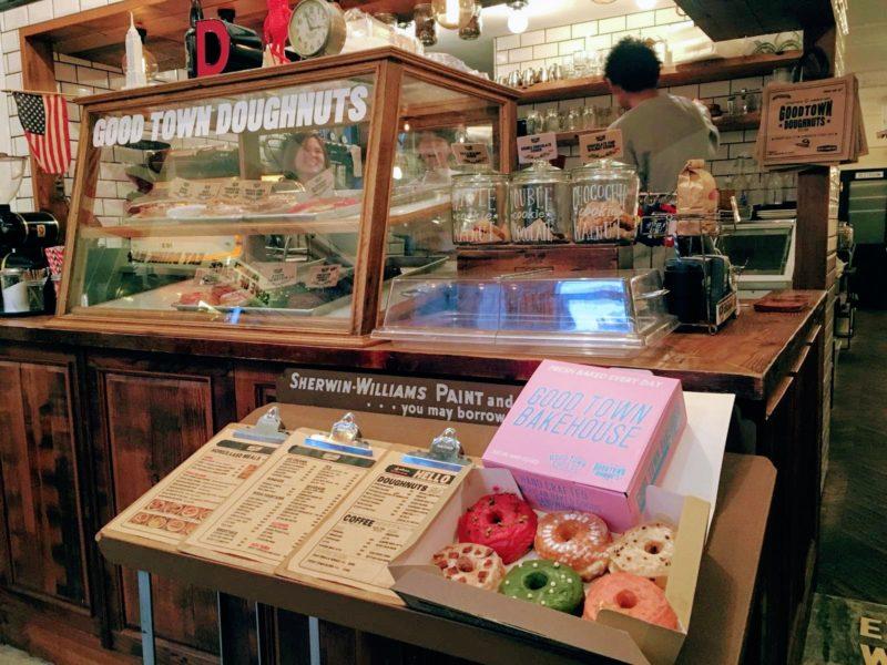 Good Town Doughnuts harajuku Tokyo, doughnuts à Tokyo, donuts à Tokyo, Visiter Tokyo, Expatriation Tokyo, Vivre à Tokyo