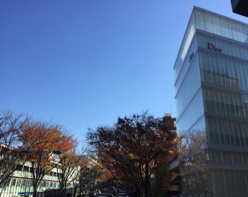 L'immeuble Dior à Omotesando, Tokyo, vivre à tokyo, visiter tokyo