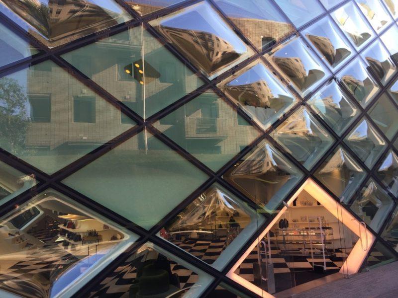 L'immeuble Prada, Aoyama, Tokyo, visiter tokyo, vivre à tokyo
