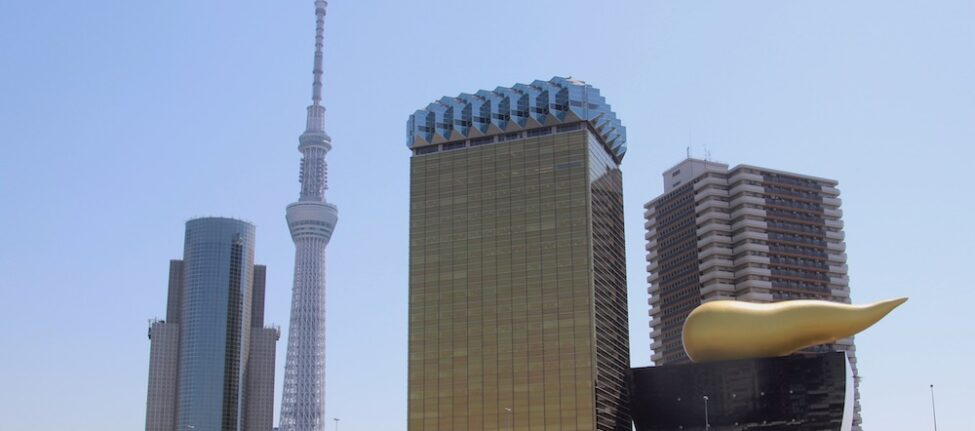 La Skytree vue depuis le quartier d'Asakusa, visiter Tokyo, vivre à tokyo