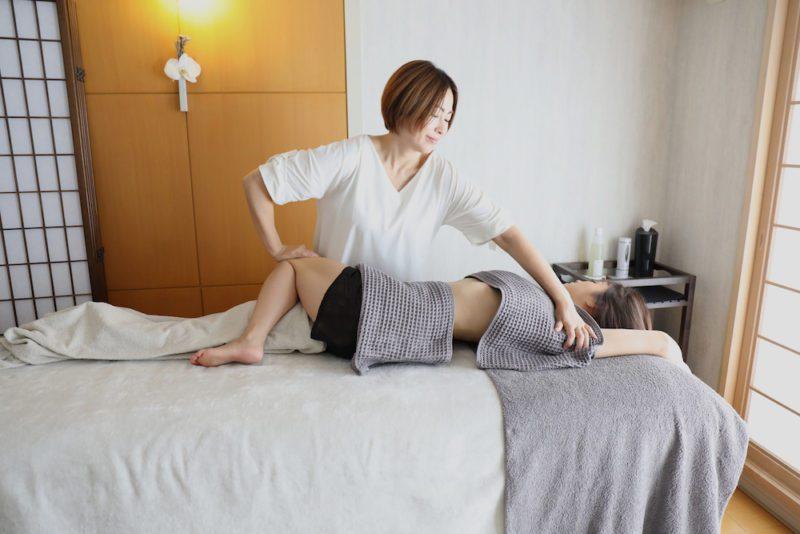 Les soins du corps de Noriko, vivre à tokyo, expatriation à tokyo