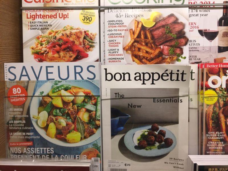 Les magazines en anglais et en français dans la librairie Tsutaya de Daikanyama, vivre à tokyo, expatriation à tokyo