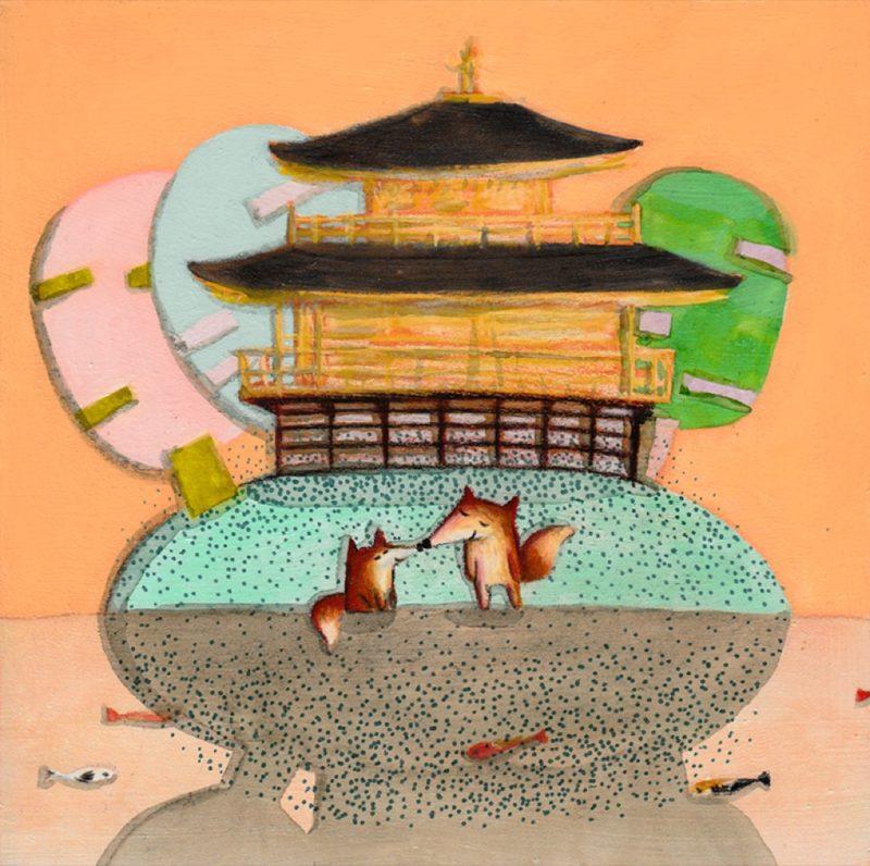 Le Kinkaku-ji, Kyoto, visiter le Japon, art à tokyo