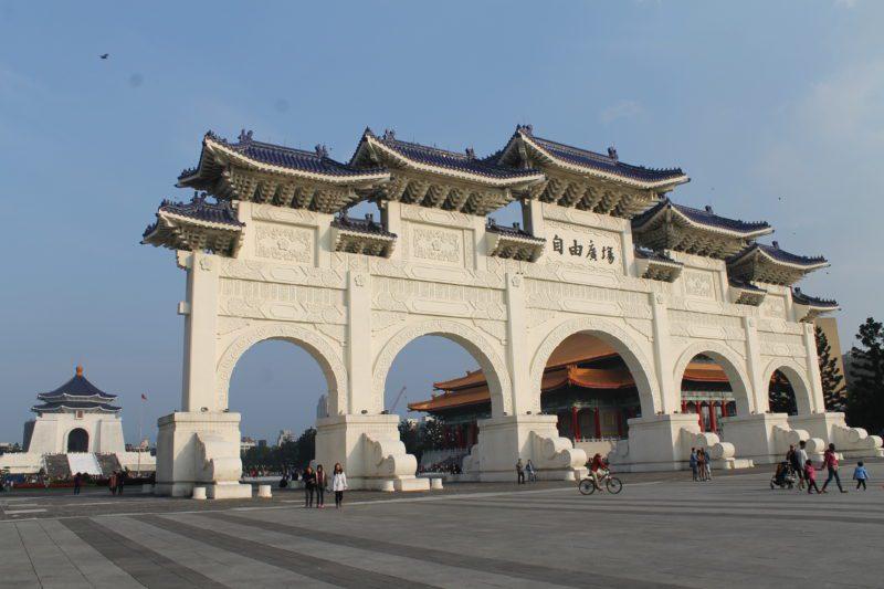 Mémorial Tchang Kai Chek, Taipei, Taiwan, weekend à Taipei, visiter taipei, expatriation tokyo, vivre à tokyo