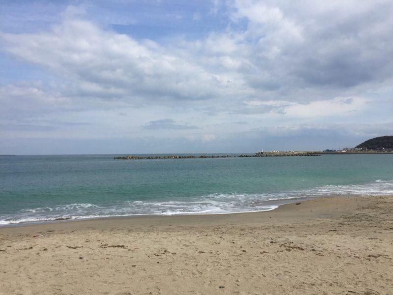 La plage d'Ajigaura, vivre à tokyo, expatriation à tokyo