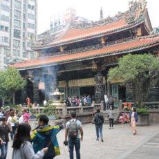 Temple Longshan, Taipei, Taiwan, weekend à Taipei, visiter taipei, expatriation tokyo, vivre à tokyo