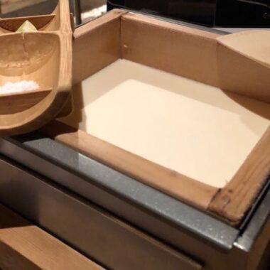 Le tofu frais fabriqué au restaurant , vivre à tokyo, expatriation à tokyo
