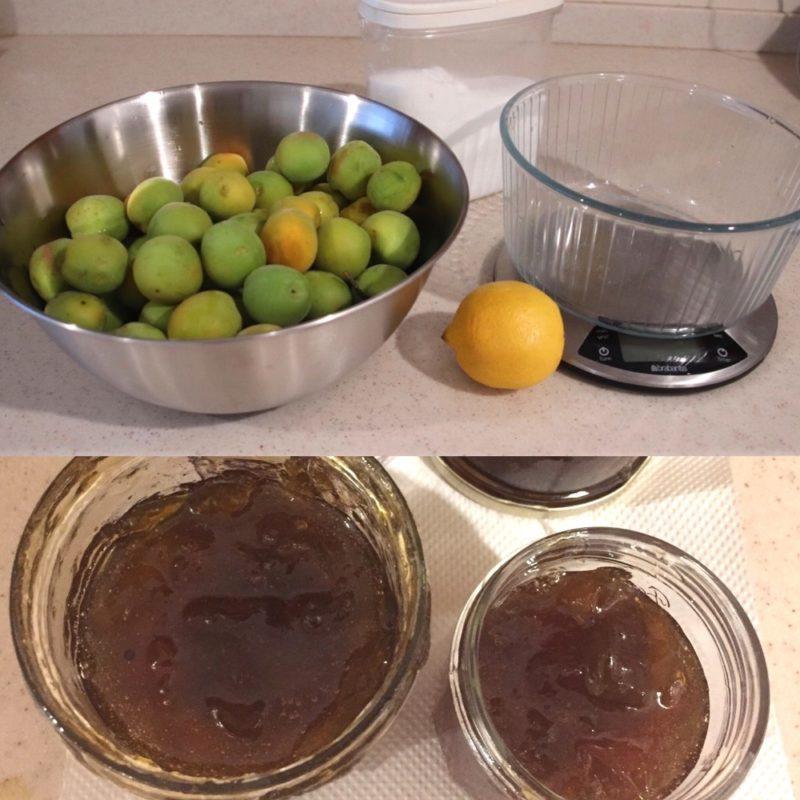 La confiture de prunes, vivre à tokyo, expatriation à tokyo, cuisiner au Japon