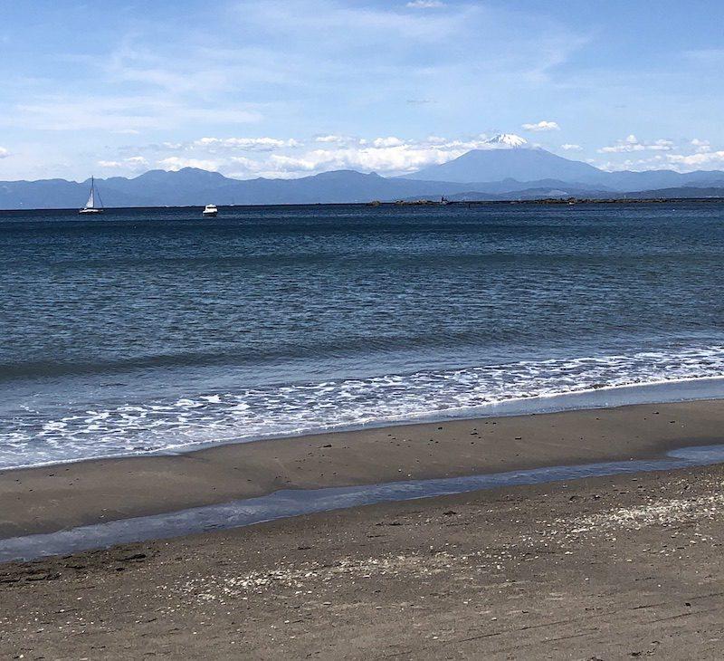 La plage d'Isshiki, vivre à tokyo, expatriation à tokyo, visiter tokyo