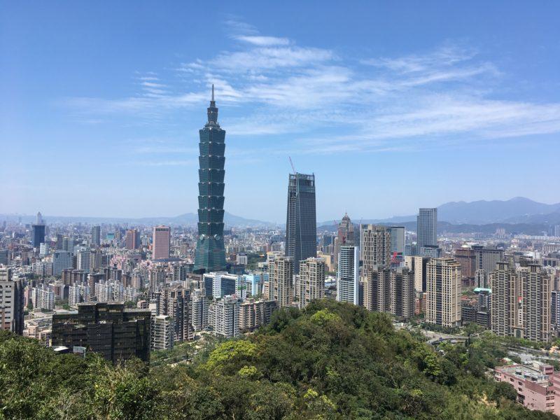 tour 101, elephant mountain, Taipei, Taiwan, weekend à Taipei, visiter taipei, expatriation tokyo, vivre à tokyo