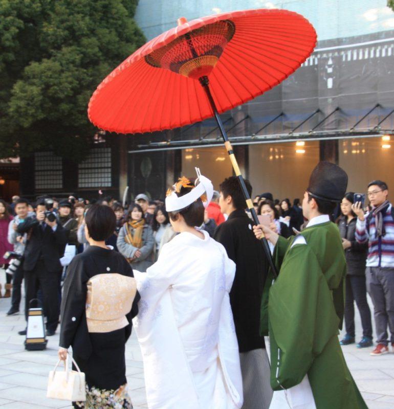 Un mariage au sanctuaire Meiji Jingu, vivre à tokyo, expatriation à tokyo, visiter tokyo
