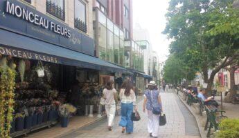 jiyugaoka, monceaux fleurs, marie claire street, tokyo, vivre a tokyo, visiter tokyo, expatriation tokyo, français à tokyo