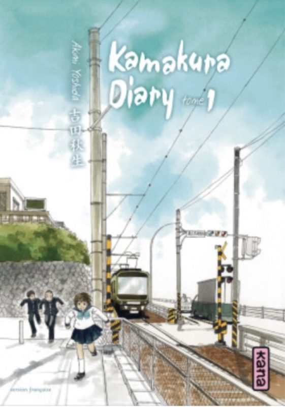 Le manga Kamakura Tome 1, expatriation à tokyo, vivre a tokyo