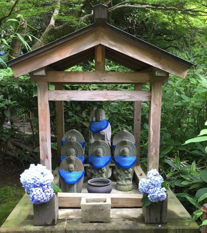 Meigestsu in , hortensias, vivre à tokyo, expatriation à tokyo, visiter kamakura