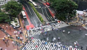 shibuya crossing saison des pluies tokyo, expatriation tokyo, visiter tokyo, vivre a tokyo