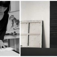 Conférence Pierres Soulage et la Calligraphie, les conférenciers, expatriation à tokyo, vivre à tokyo