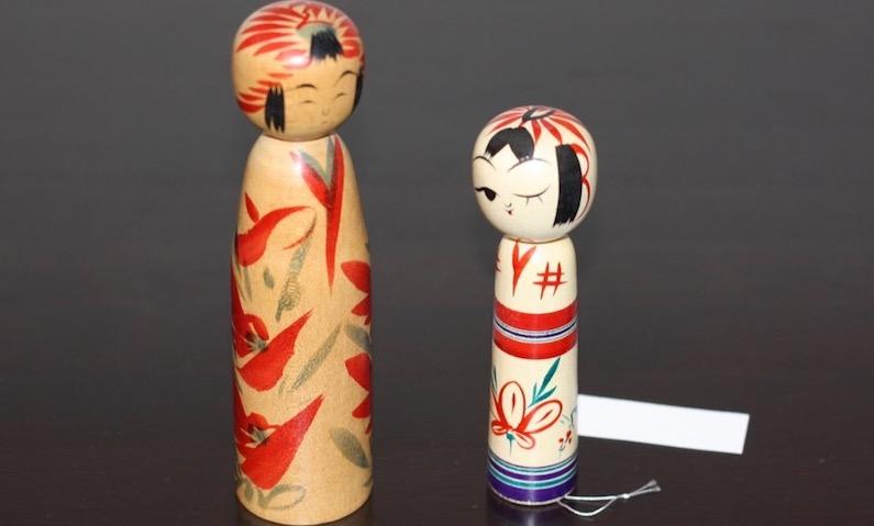 Les Kokeshi et le type de bois, visiter le Japon, vivre à tokyo, expatriation à tokyo