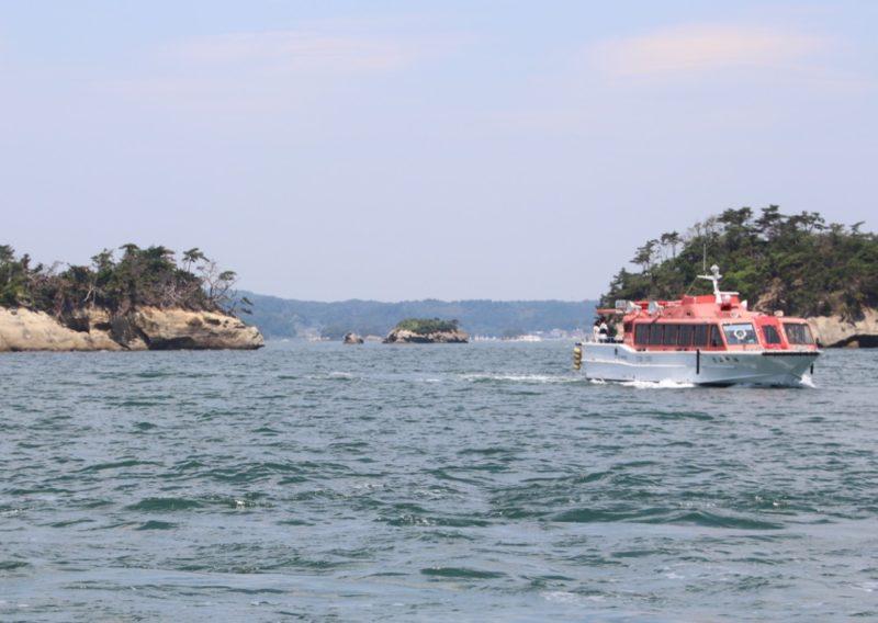 Excursion en bâteau à Matsushima, visiter le Japon, vivre à tokyo, expatriation à tokyo