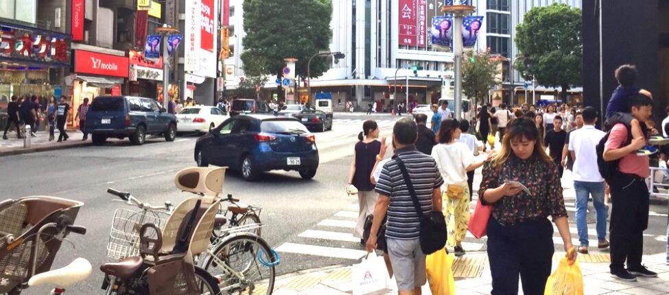 Une scène de la vie quotidienne à Shibuya © Vivre à Tokyo