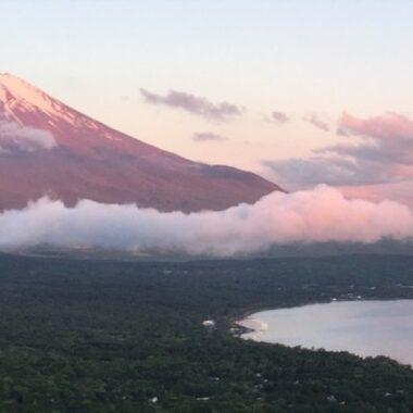 Le spectacle du lever du soleil, mont fuji, vivre a tokyo, français a tokyo