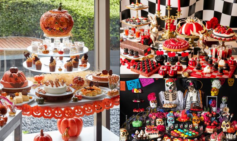 halloween a tokyo, visiter tokyo, français a tokyo, vivre a tokyo, halloween buffet afternoon tea