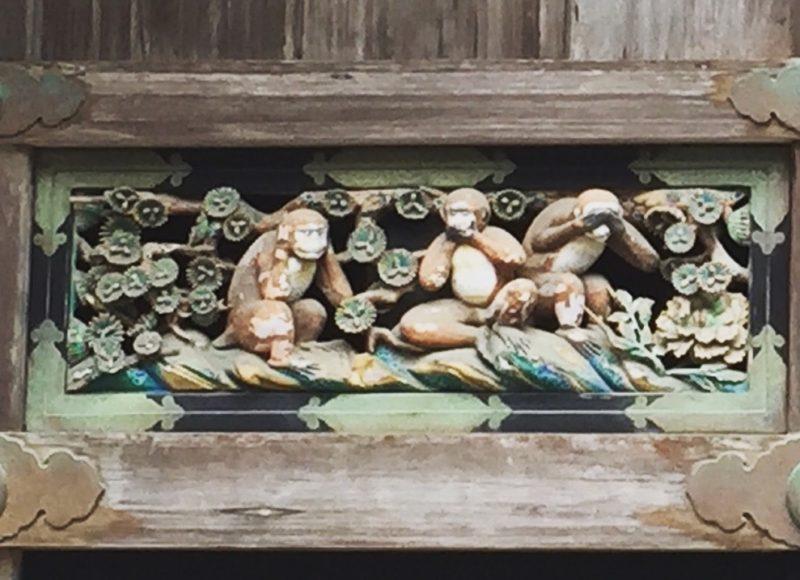 A l'entrée de sanctuaire de Nikko , visiter le japon, vivre a tokyo