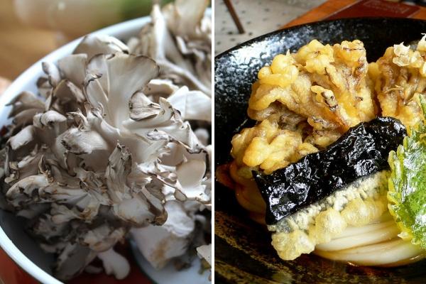 maitake, champignons japonais, champignon japon, cuisine japonaise, recette japon, vivre a tokyo, français a tokyo, recette champignon japon