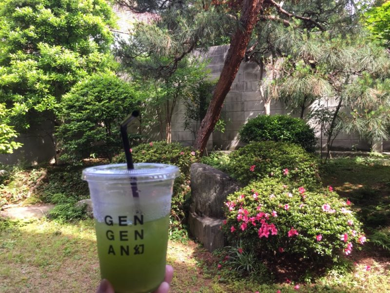 gen gen an, thé vert, vivre a tokyo, visiter tokyo, francais a tokyo
