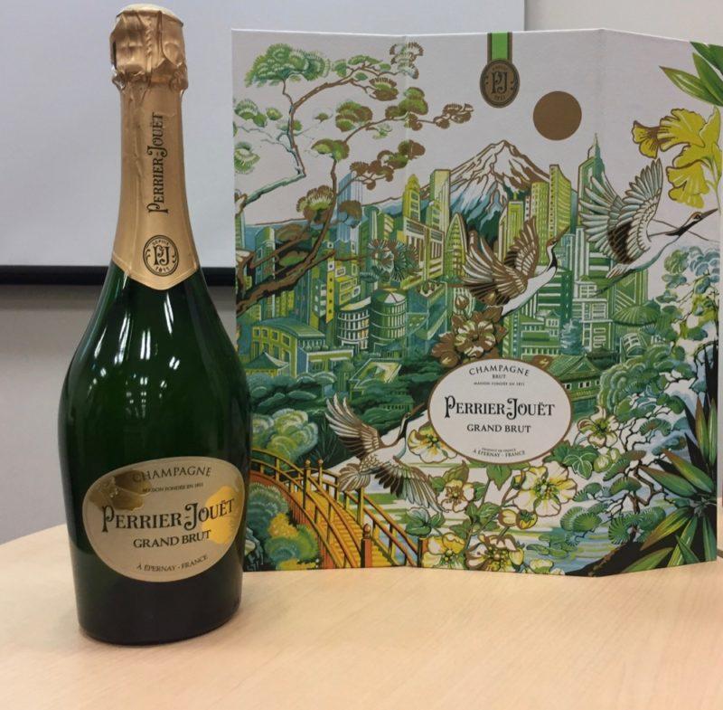champagne a tokyo, vivre a tokyo, noël, français a tokyo