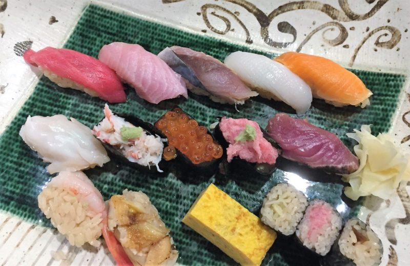 sushi à tokyo, abe sushi hiroo, manger des sushi a tokyo, sushi japon, sushi, maki, restaurant de sushi tokyo, vivre a tokyo, français a tokyo