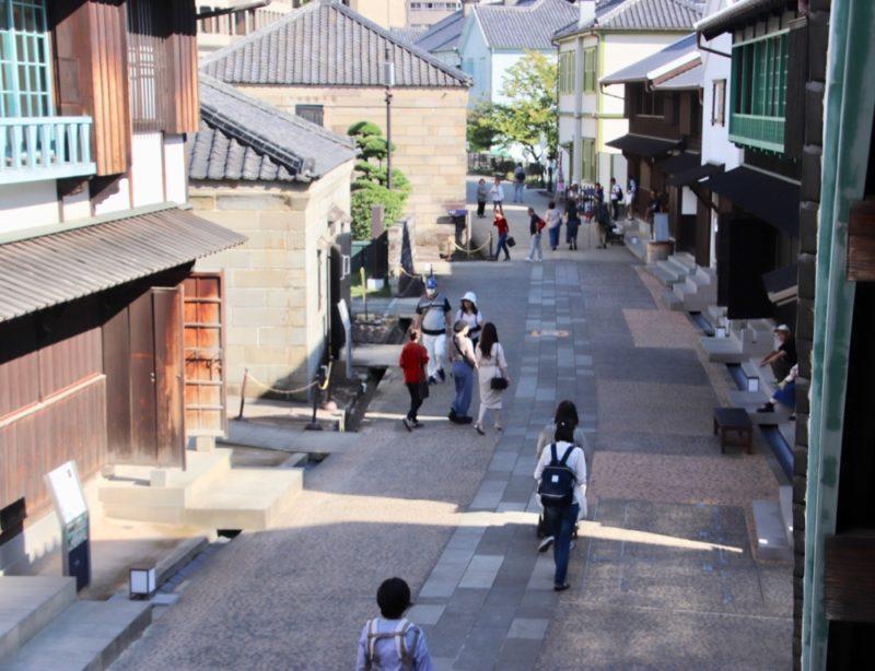 dejima a nagasaki, vivre a tokyo, visiter le japon, expatriation a tokyo, visiter le kyushu