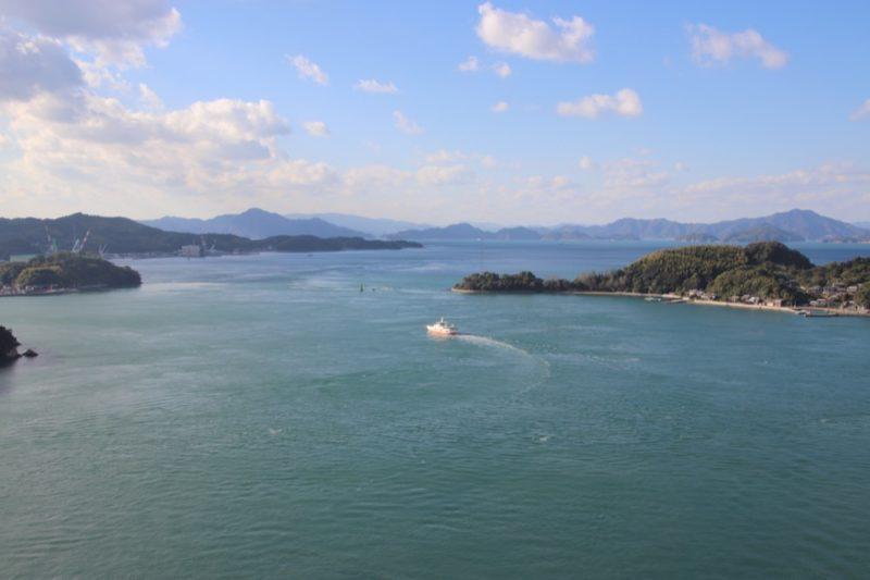 La mer de Seto, vélo au japon, shimanami kaido, visiter le japon