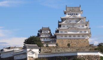 château d'himeji, vivre a tokyo, visiter le japon, expatriation a tokyo, visiter Himeji