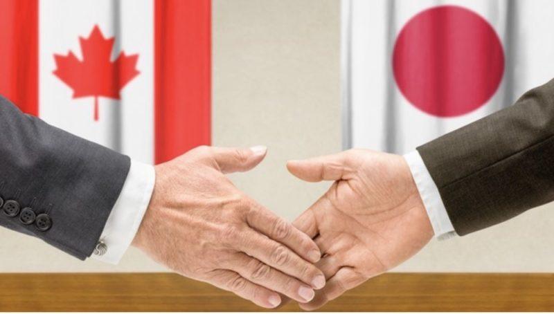 Les accords commerciaux canada - Japon, diplomatie au japon, vivre a tokyo