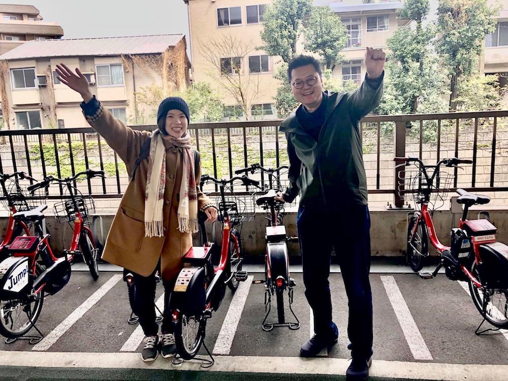 visites guidées en vélo dans Tokyo, visiter Tokyo, vivre à Tokyo