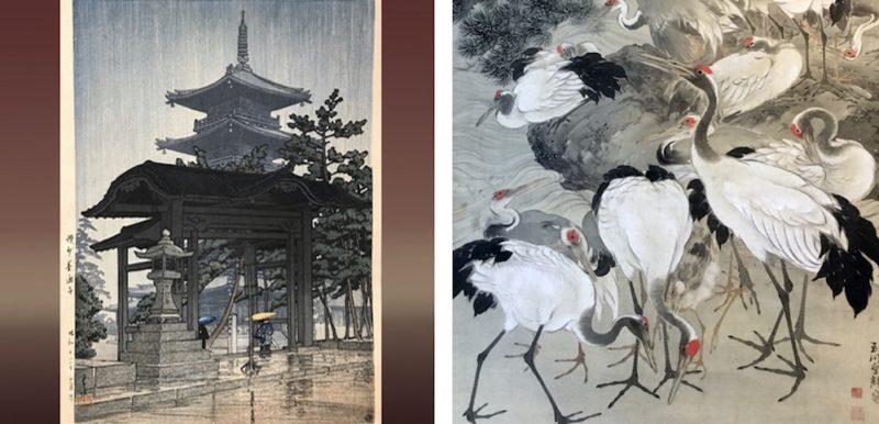estampes, vivre a tokyo, dents de lion antique, visiter tokyo, shopping