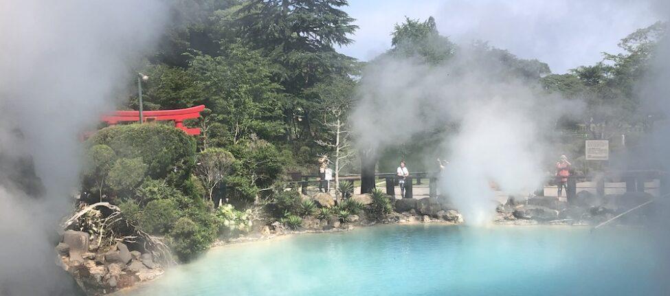 visiter beppu, vapeurs, visiter le japon