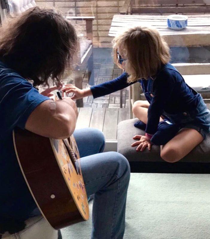 cours de guitare, musique, vivre à tokyo, français a tokyo