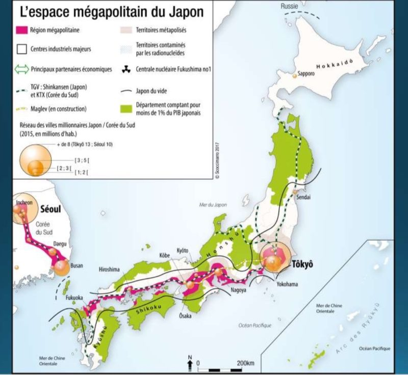 géographie japonaise, explorer le japon, vivre à tokyo