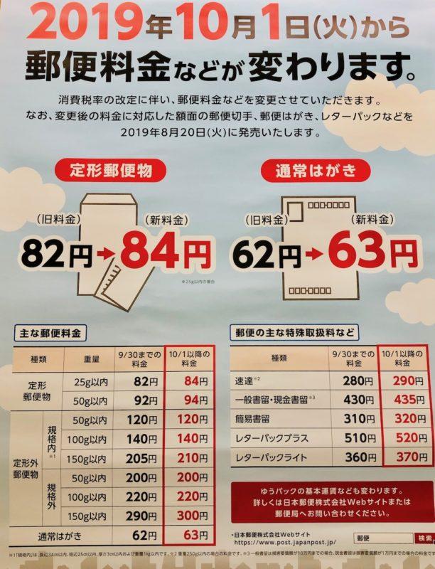 Les taxes et le prix des timbres dans une poste japonaise, vivre a tokyo