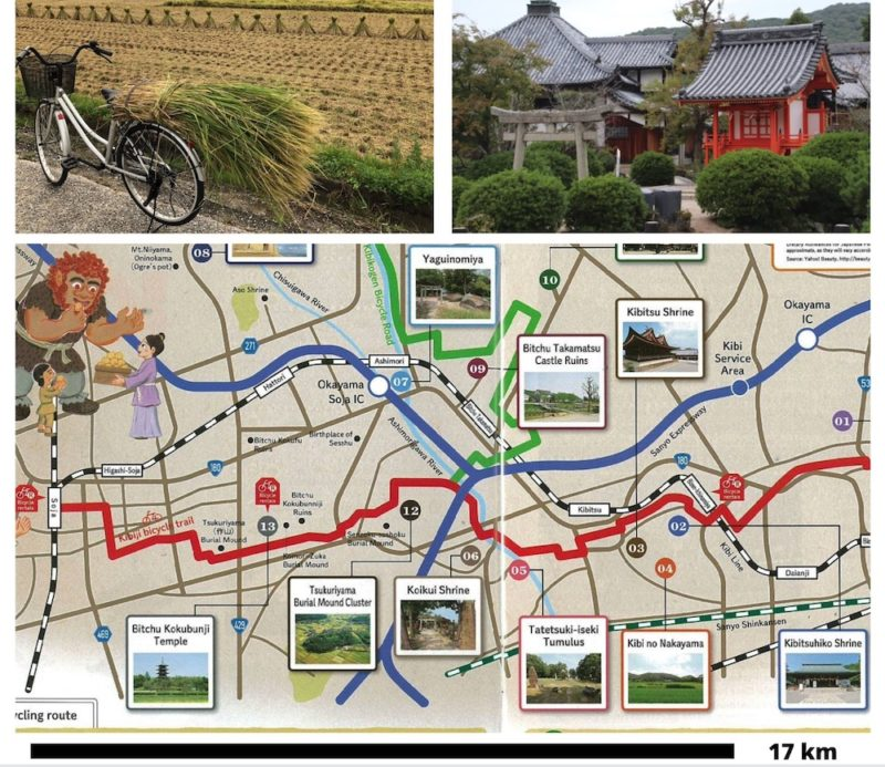 piste cyclable Kibiji, vélo au japon, visiter le japon, okayama
