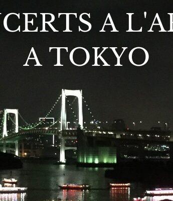 sortir à tokyo, con cert à tokyo, vivre a tokyo, visiter tokyo