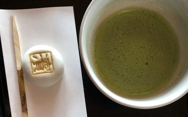 thé et manju, vivre a tokyo, cuisine japonaise, visiter tokyo