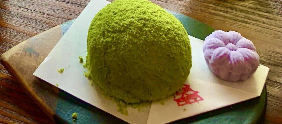 thé et wagashi, vivre a tokyo, cuisine japonaise, visiter tokyo