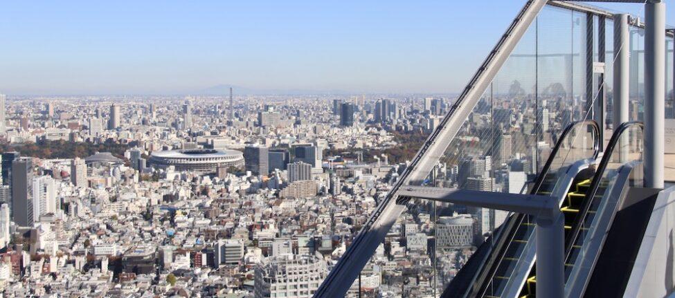 tokyo, shibuya sky, vivre a tokyo, visiter tokyo