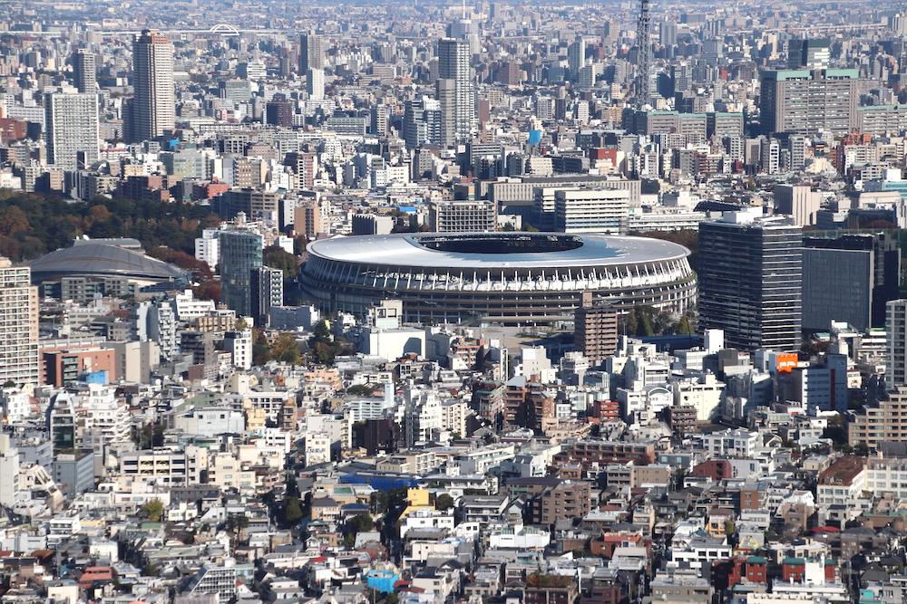 stade national, shinjuku, tokyo, shibuya sky, vivre a tokyo, visiter tokyo, jeux olympiques 2020
