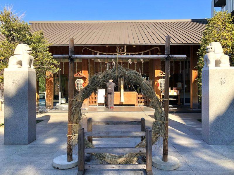 le sanctuaire akagi dans La kagurazaka, visiter tokyo, vivre à tokyo