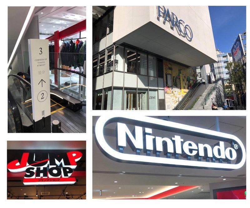 Shopping à Shibuya, Shibuya Parco, vivre a tokyo, visiter tokyo